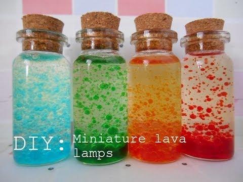 Bottle Charm: Miniature LAVA LAMPS