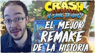 CRASH BANDICOOT N.SANE TRILOGY ¿El MEJOR REMAKE de la HISTORIA?
