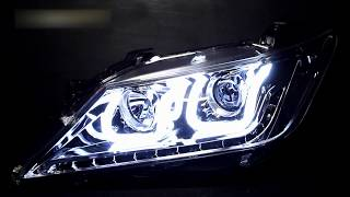 Тюнинг фары Тойота Камри 50 | Headlights Toyota Camry V50