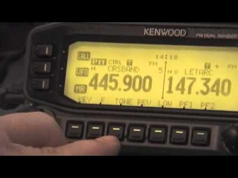 Demo of Crossband Repeat with Kenwood TM-D710