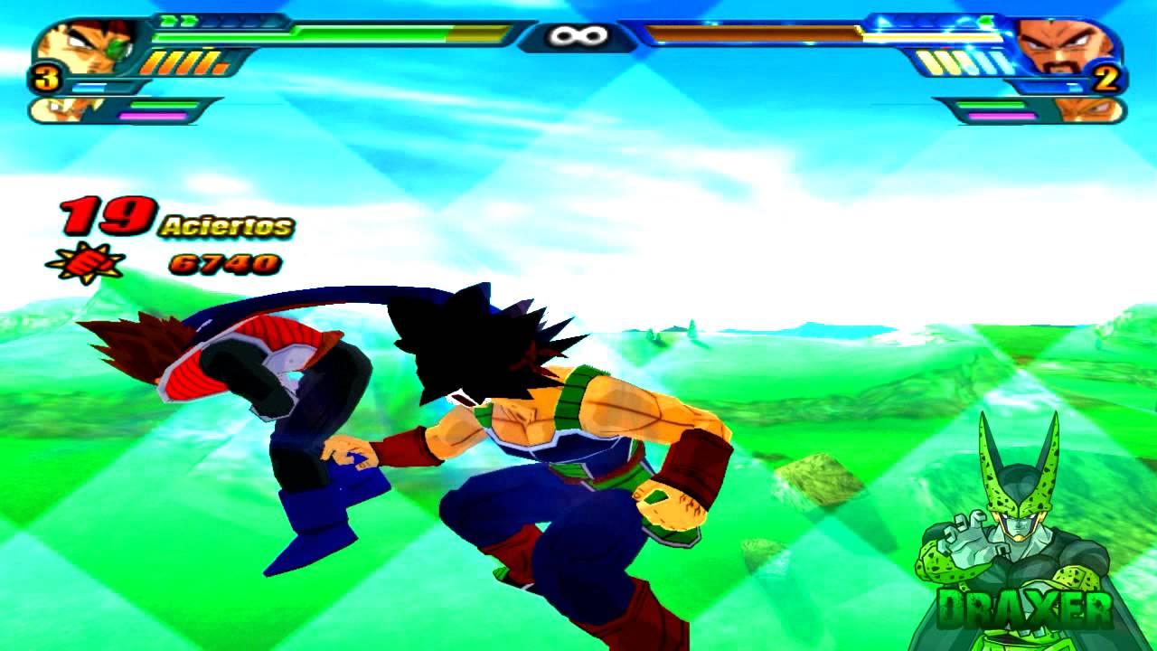 Dbz Bardock Ssj Dbz   Bardock y Goku Ssj vs