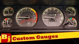 How To Install Custom Gauges - From Azzy Design Works