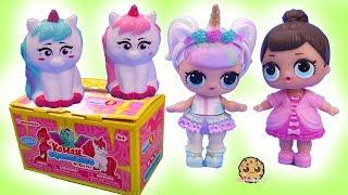 Color Change Squishies ! Kawaii Squeezie Unicorns Surprise Blind Bags