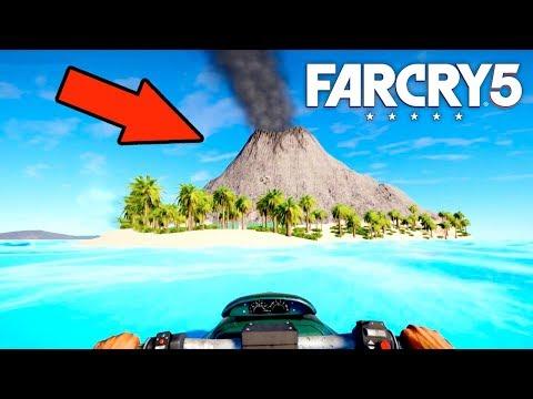 FAR CRY 5 - СЕКРЕТНЫЙ ОСТРОВ с ВУЛКАНОМ!! (Far Cry 5 Arcade)
