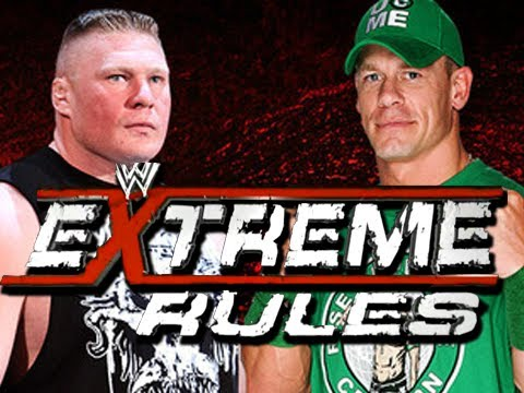 WWE Extreme Rules - John Cena vs. Brock Lesnar - Full Match Predictions (Machinima)