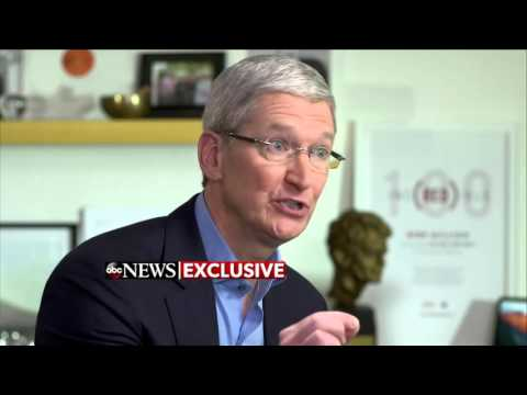 Exclusive: Apple CEO Tim Cook Sits Down With David Muir (Extended Interview) | ABC News