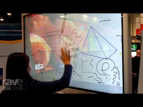 DSE 2015: Asianda Shows 65-Inch Touch Interactive Whiteboard
