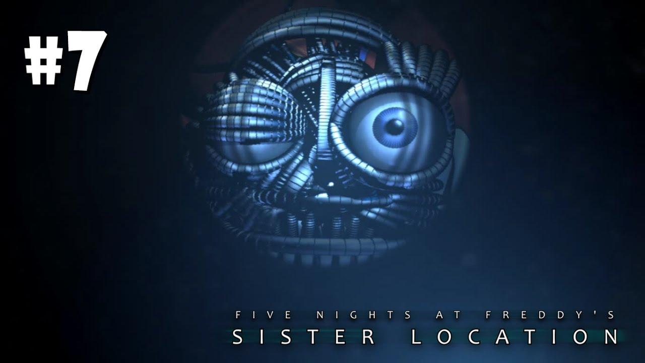 Five Nights at Freddy's: Sister Location - 8 ЧАСОВ НЕУДАЧ! МИНИ ИГРА!