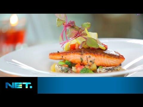 Deva & Chalsea Islan - Salmon and Clams Sauce   Chefs Table   Chef Chandra   NetMediatama