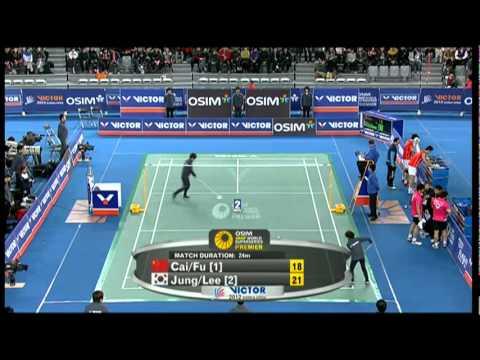 Finals - MD - Cai Y. / Fu H. vs Jung J.S / Lee Y.D - 2012 Victor Korea Open
