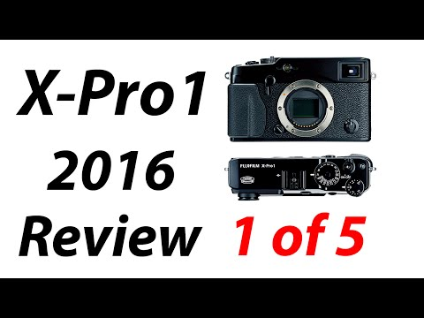 Fuji X-Pro1 Review 2016: Part 1 of 5 Overview and AF Modes