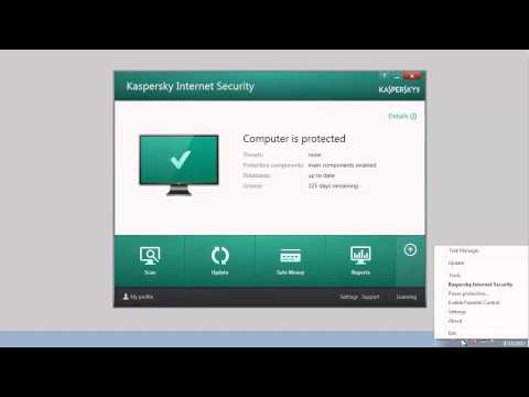 How to update anti-virus databases of Kaspersky Internet Security 2014