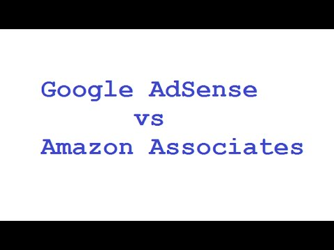AdSense vs Amazon Associates - Earnings Case Study