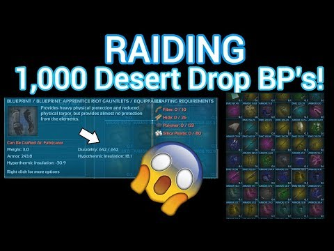 Looting 1000 desert drop blueprints ark official pvp ark looting 1000 desert drop blueprints ark official pvp ark survival evolved malvernweather Gallery