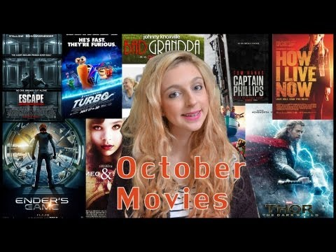 October Movie Releases (UK)   Where are the horror movies?