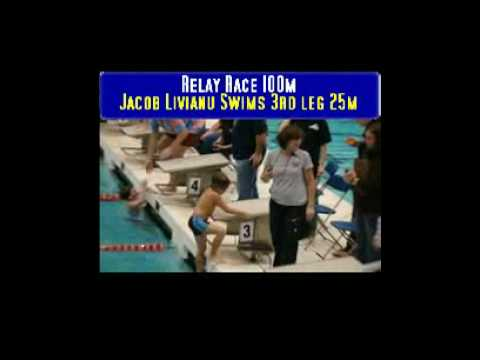 Phillip & Jacob Swim For Good Shepherd School, Brooklyn, NY