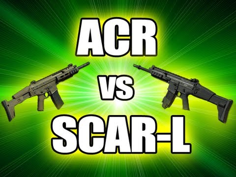 MW3 Tips & Tricks: ACR vs SCAR-L - Which is better? (Modern Warfare 3)