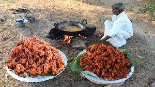 35 KG ONION PAKODA | Indian Snacks | Vengaya Pokoda prepared by Uncle | food fun village
