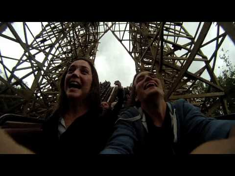 slowmotion rollercoaster GoPro #1