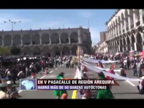 Tvmundo Arequipa: Pasacalle Por El 472 Aniversario