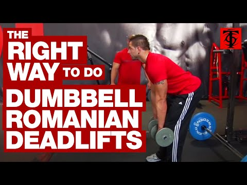 Dumbbell Romanian Deadlift Image 1