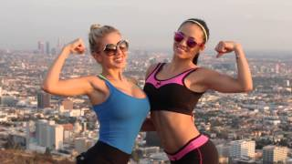 Runyon with Valeria Orsini, Francy Medeiros, LiveRichMedia