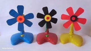 Toys Fan  - Tiga Kipas Agin Mini Kreasi - quạt mini
