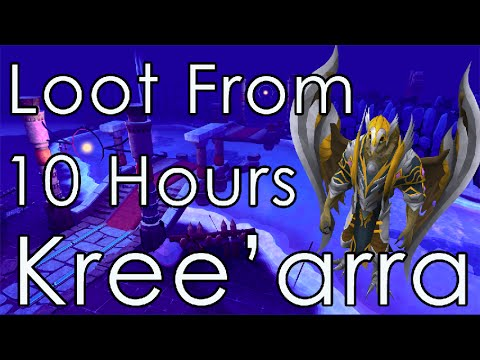 Runescape – Loot from 10 hours of Kree'arra (Armadyl) 2014
