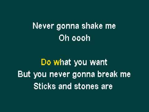 Pocketful Of Sunshine - Natasha Bedingfield Karaoke Kwl video