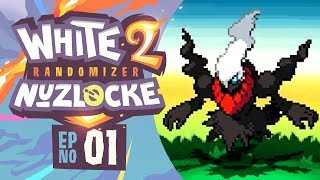 I DIDN'T WANT THIS! - Pokémon White 2 Randomizer Nuzlocke w/ Supra! Episode #01