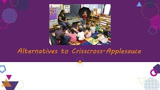 Alternatives to Crisscross-Applesauce