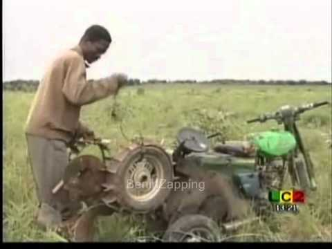 Moto agricole made in Benin