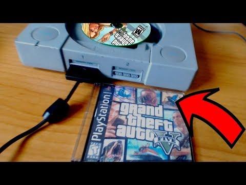 ЧТО ПРОИЗОЙДЕТ ЕСЛИ ЗАПУСТИТЬ GTA 5 НА PLAY STATION 1!? КАК ВЫГЛЯДИТ ГТА 5 НА PS1? | DYADYABOY 🔥