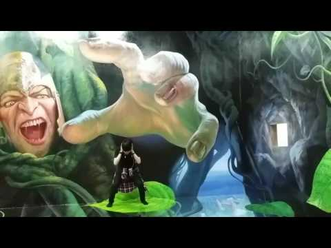 Video wisata bandung lukisan 3d