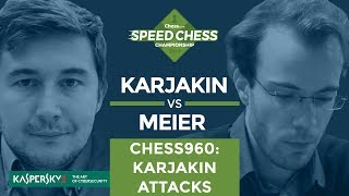Speed Chess Champs Highlight: Sergey Karjakin Attacks In Chess960
