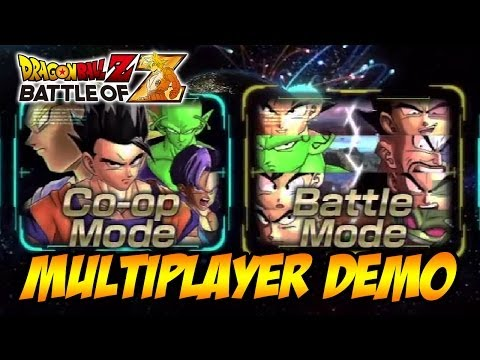 Dragon Ball Z: Battle of Z - PS3/X360/PSVITA - Demo Multiplayer Gameplay (Trailer)
