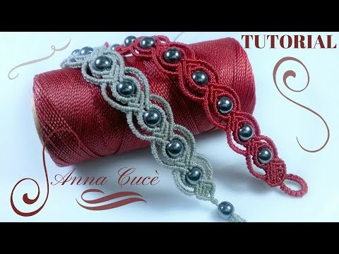 "Macrame bracelet tutorials ""Tiziana"" / Diy tutorial / Step by step"
