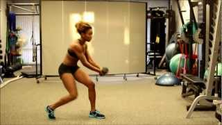 How To Do A Dumbbell Woodchop: Exercise For The Core