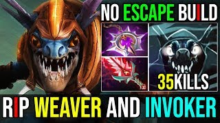 Bloodthorn+Nullifier=No Escape [Slark] HOW TO COUNTER WEAVER 35Kills 7.19b | Dota 2 FullGame