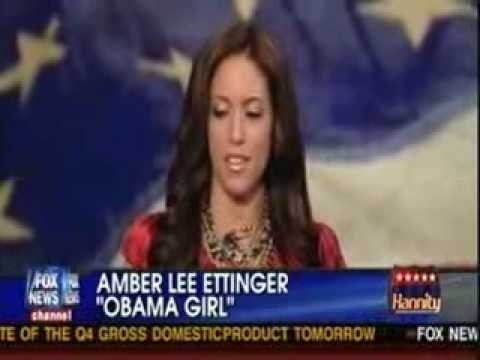 Sean Hannity Interviews Former 'Obama Girl' Amber Lee Ettin