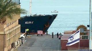 کشتی مشکوک به حمل اسلحه از ایران به ساحل اسرائیل رسید