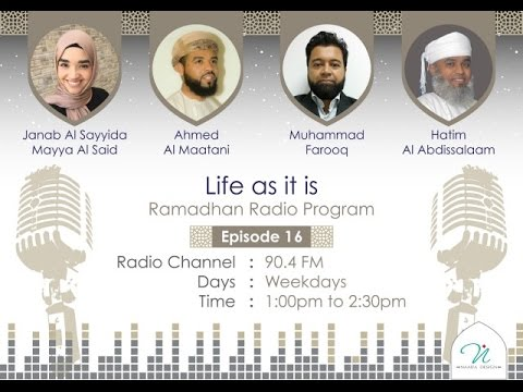 Life as it is Episode 16 Authentic Religion feat Hatim Al Abdilsalam