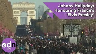 Johnny Hallyday: Honouring France's 'Elvis Presley'