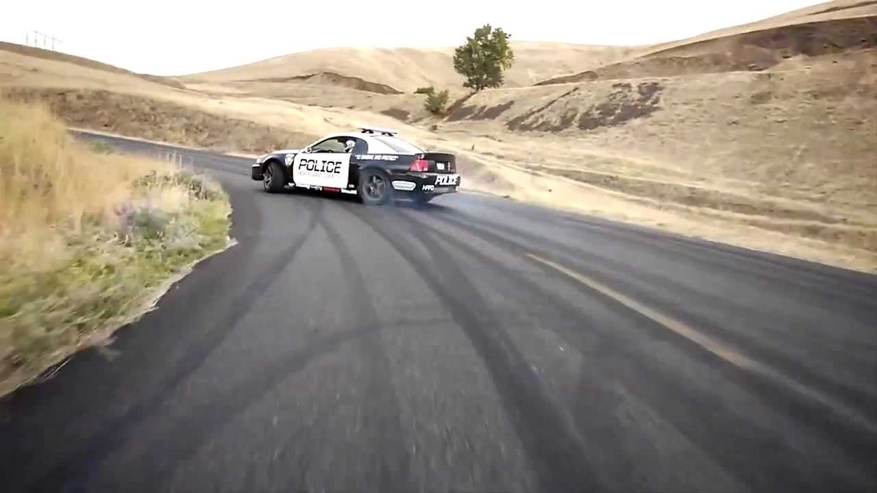 Bikes Vs Cops Drift HD Drifting Police Car vs
