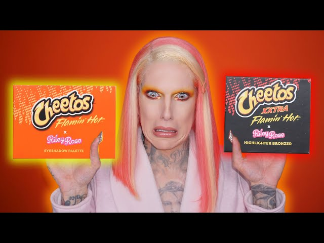 Cheetos Makeup... Is It Jeffree Star Approved?! thumbnail