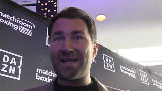 "Eddie Hearn ""Fury Changes A coach is very Risky"""