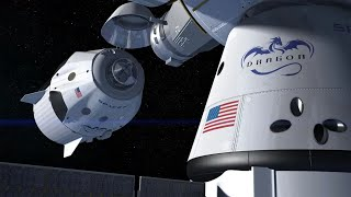 Acoplamento CrewDragon na ISS | NASA e SpaceX