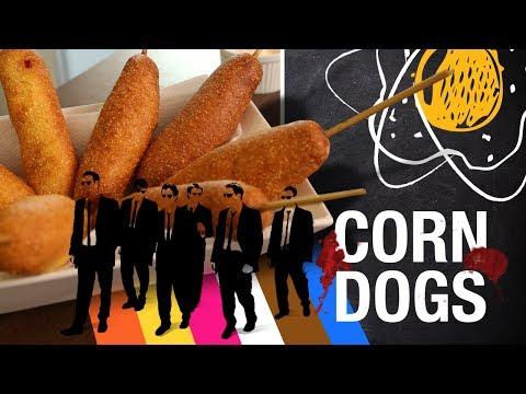 CORN DOGS Cães de Aluguel | Miolos Fritos Culinária Nerd