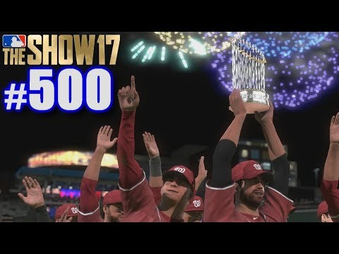 500TH EPISODE SPECIAL! | MLB The Show 17 | Road to the Show #500 thumbnail