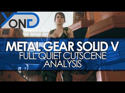 Metal Gear Solid V - Full TGS 2014 Quiet Cutscene Analysis